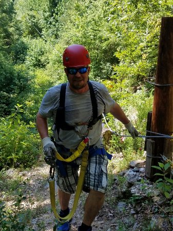 Zip Lines at Ouachita Bend: 20160625_104741_large.jpg