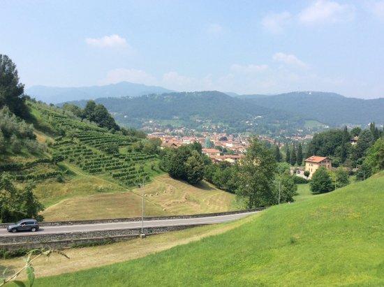 Province of Bergamo, Ιταλία: ciudad alta Bergamo