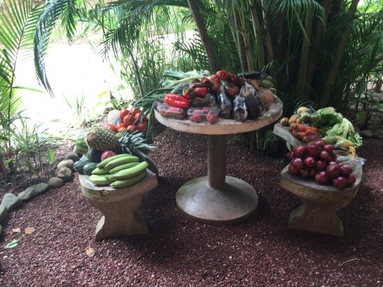 Costa Rica Yoga Spa: meal prep...food was amazing!!!!