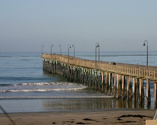 Cayucos, Californie : This was the view from our room balcony in the morning.