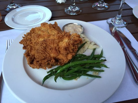 Palate : The Pork Chop is delicious! The Thursday Night Fried Chicken Special is excellent.   So crispy,