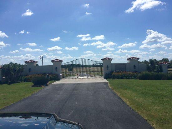 Washington, Teksas: Entrance to Ranch