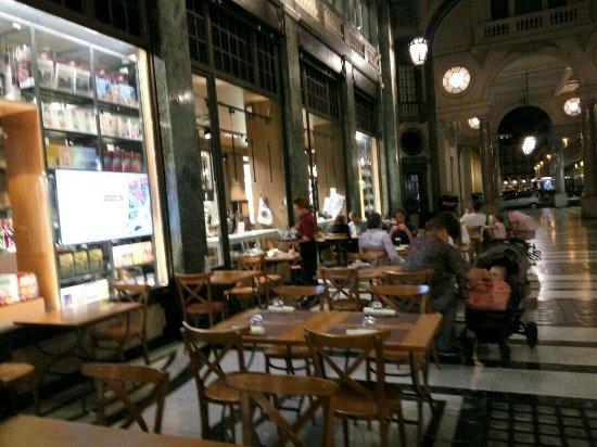 Ristorante La Credenza Galleria San Federico : Fiorfood foto di torino tripadvisor
