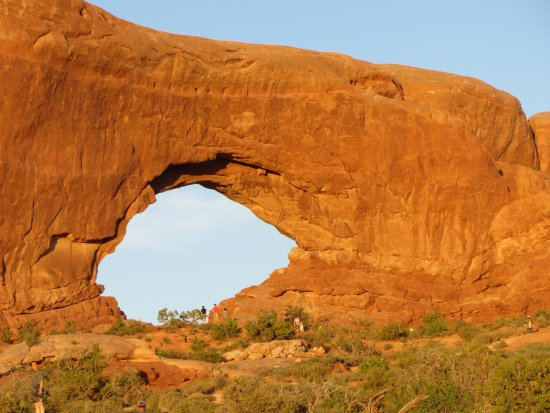 Moab Adventure Center - Day Tours: North window