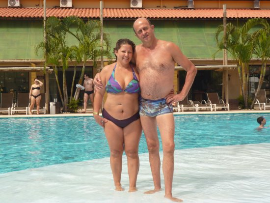 Resort La Torre: en la piscina principal , frente al comedor y zona de actividades