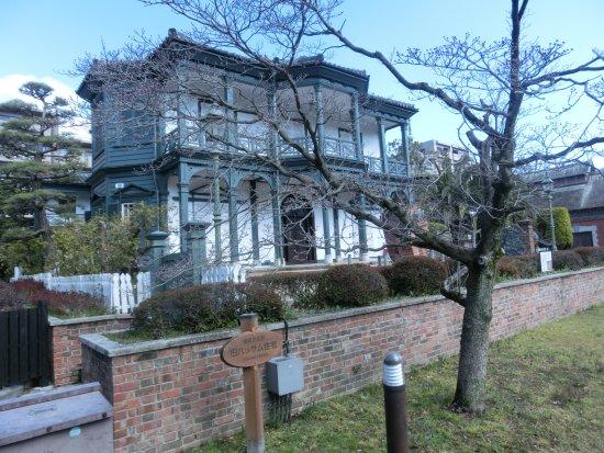 Former Hassam House: 和洋折衷だが、やはりモダン。