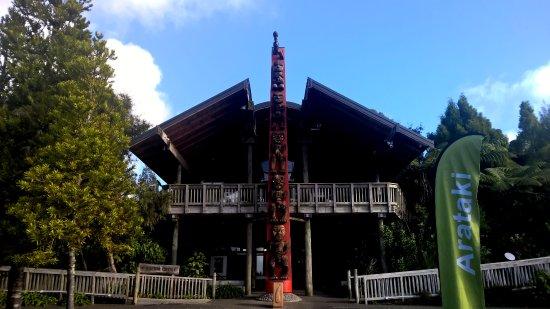 Waitakere City, Новая Зеландия: Entrance to the Arataki Visitors Centre
