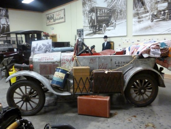 Model T Ford Museum: Special silver streak exhibit