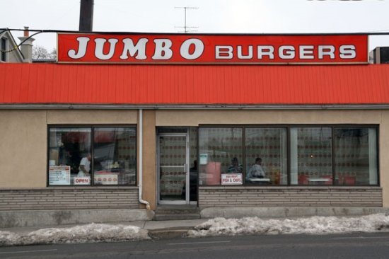 Photo of Restaurant Jumbo Burgers at 685 Runnymede Rd, Toronto M6S 3A4, Canada