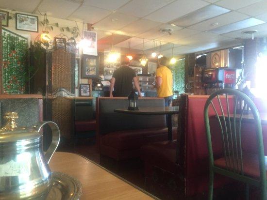 Heart of Jerusalem Cafe : Interior of the restaurant
