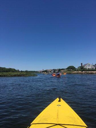 Great Marsh Kayak Tours: Through the marshes