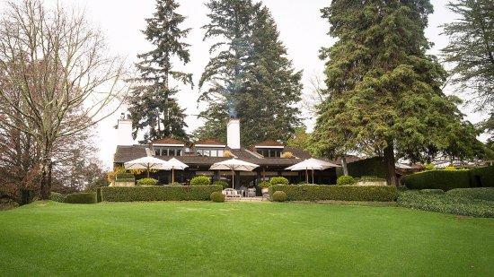 Huka Lodge: Main lodge