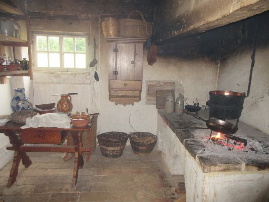 The German Farm kitchen Picture of Frontier Culture Museum