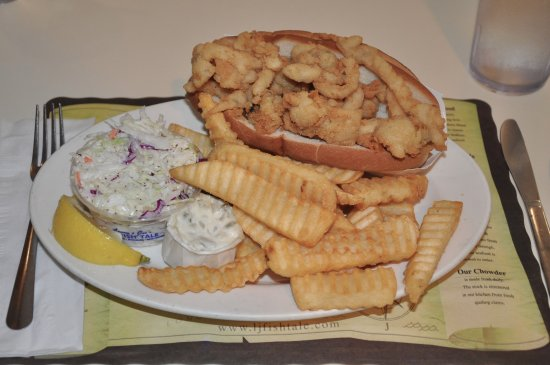 Lenny & Joe's Fish Tale: Whole Belly Clam Roll at Lenny & Joe's