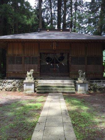 Uenohara, Japan: 静かな神社です。