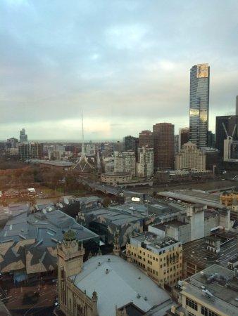 Grand Hyatt Melbourne: 2912号室からの外観