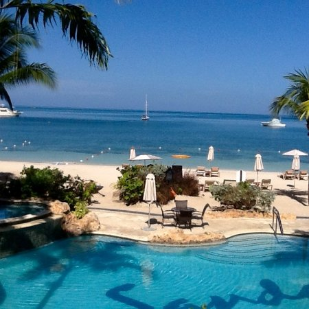 Sandals Negril Beach Resort & Spa: This is just one of many types of views to enjoy.
