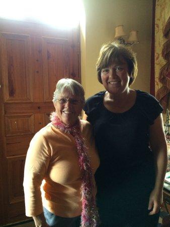 Kilcornan, Irlanda: Caroline and I.