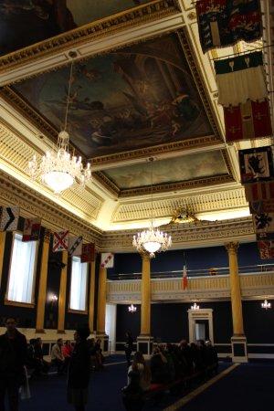 Dublin Castle: ball room