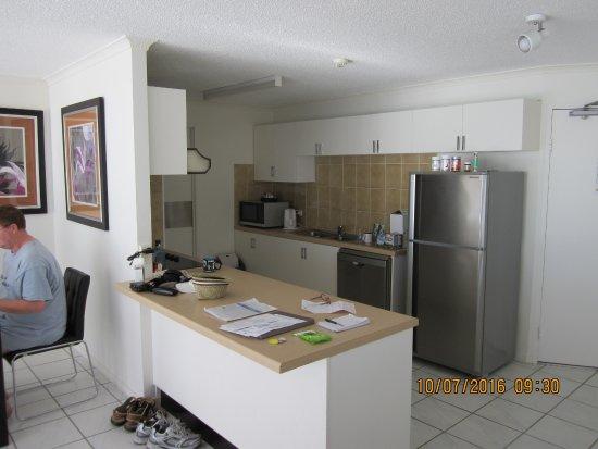 كايرنز أكواريوس: kitchen