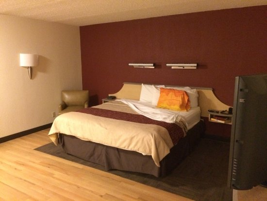 Red Roof Inn El Paso East: Superior King Room