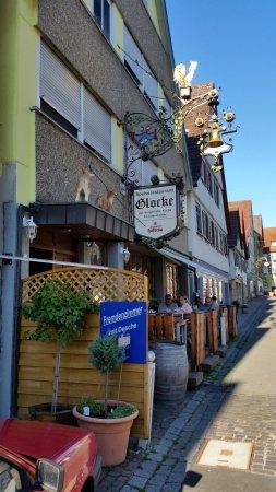 Marbach am Neckar, Tyskland: Restaurant Glocke