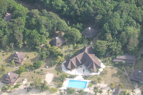 New Emerald Cove: Hotel Anlage aus der Vogelperspektive!