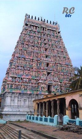 Adi Kumbeswarar Temple: Mesmerising view of the huge Rajagopuram from inside the temple