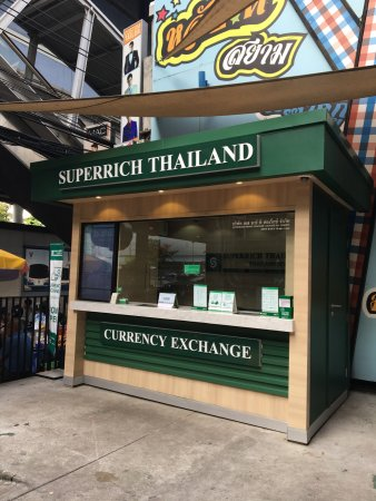 Mercure Bangkok Siam Superrich Currency Exchange Is Right Next Door
