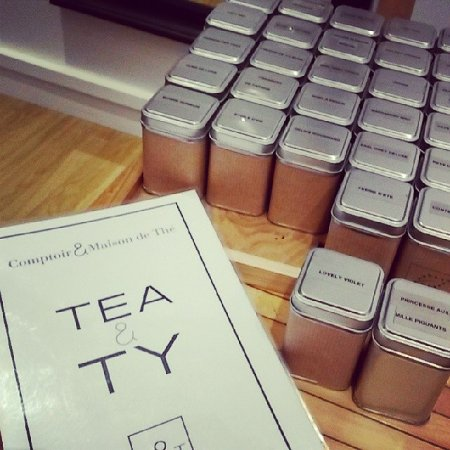 Tea & Ty: Des échantillons pour nous aider à choisir