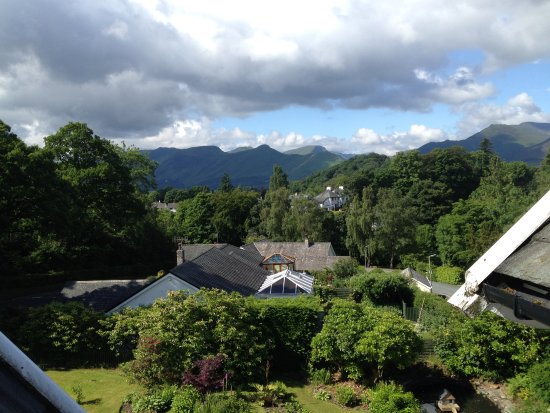 The Grange Country House: View from room 9