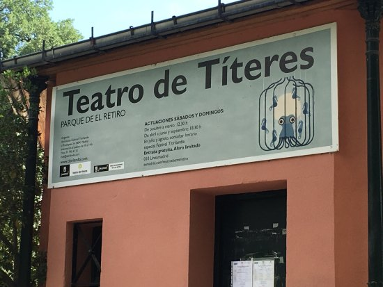 Municipal Puppet Theater (Teatro Municipal de Titeres del Retiro): photo1.jpg