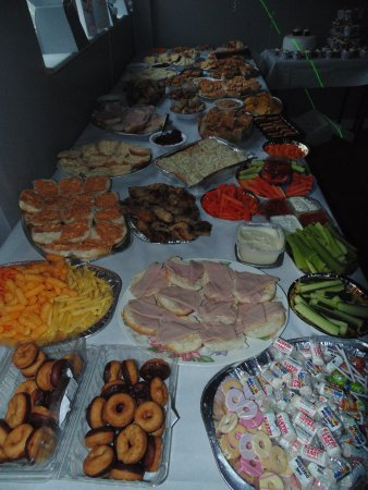 Party food picture of ne38 sports bar washington for Food at bar 38