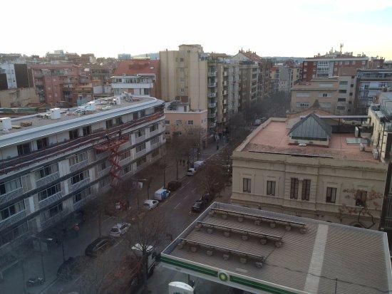 Aparthotel Atenea: 南側の部屋からの眺め