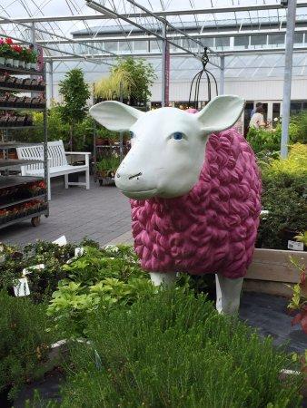 Leighlinbridge, Ирландия: Garden attraction