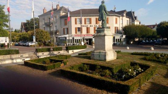 Hôtel-Restaurant de la Gare : vue de l'hotel