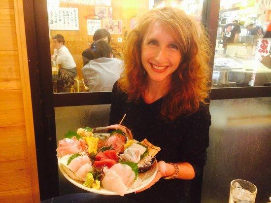 Marutomisuisan: Sashimi Platter