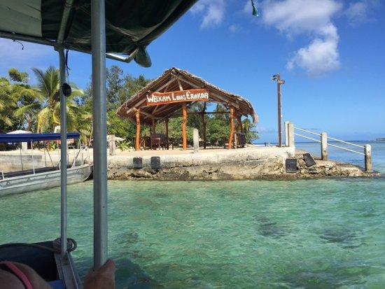 Erakor Island Resort & Spa: Welcome to the island