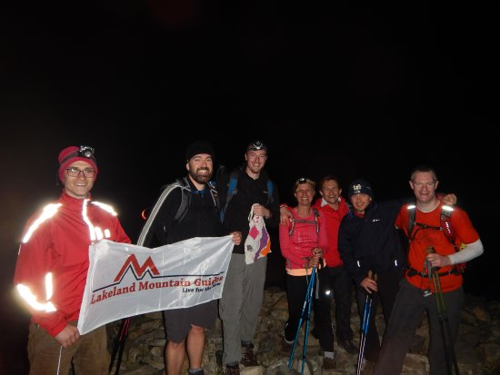 Dearham, UK: Summit of Scafell Pike
