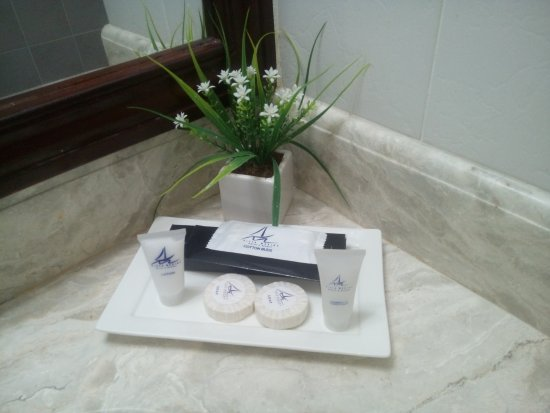 Vista Marina Hotel and Resort: Free Toiletries
