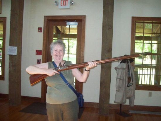 Musgrove Mill State Historic Site: Brown Bess rifle