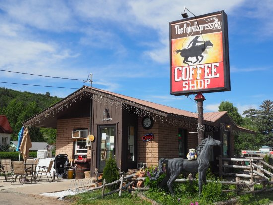 The Pony Expresso : Coffee shop exterior