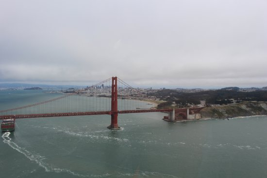 Bay Aerial Helicopters: San Francisco and the Golden Gate Bridge 06/09/2016