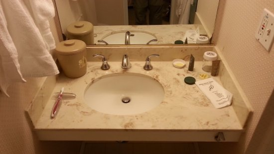 Hotel Beresford The Sink In Bathroom