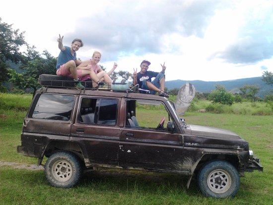 Minahasa Hotel Manado : The jeep we use in Bada valley