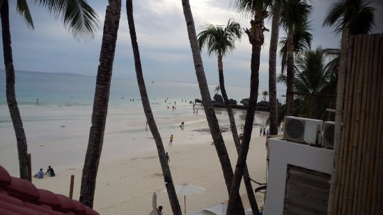 True Home Hotel, Boracay: View from presidential suite balcony