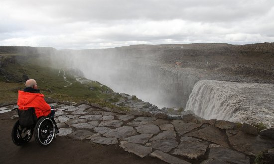 North Iceland, Iceland: Dettifoss.