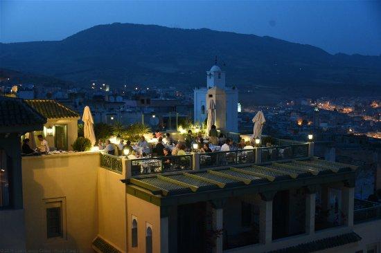 L'Amandier Palais Faraj : Outdoor terrace