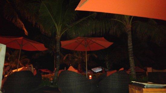 โรงแรมลีเจียน บีช: Bar de la plage