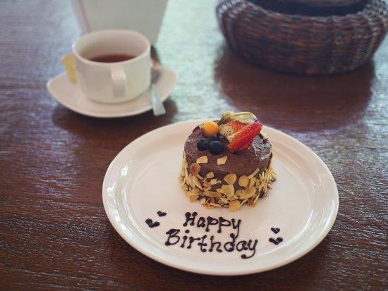 The Banjaran Hotsprings Retreat: Thanks for my birthday cake!